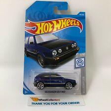 Volkswagen Golf MK2 #68 * Purple * 2019 Hot Wheels New Case J * WF8