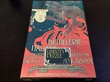 70s# VINTAGE DISTILLERIE ITALIANE APPARECCHI A GAS D'ALCOOL PUZZLE 750 Pcs#