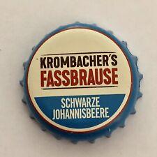 Kronkorken/Bottle Cap/Capsulas-Krombacher`s Fassbrause Schwarze Johannisbeere