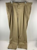 EUC Mens Oak Hill Stretch Khaki Pants 44 X 32