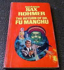 THE RETURN OF DR. FU MANCHU by Sax Rohmer 70, Pyramid  pulp SC