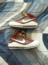 Nike Lebron 7 christ the king ctk size 12 vii red south