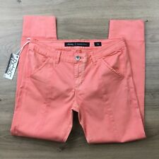 Riders by Lee Vegas Bumsters Capri Women's Jeans Sz 12 NWT Faded RRP $110 (BV16)
