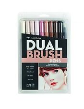 TOMBOW ABT Dual Brush Pens Art Markers, Portrait Palette, #56170