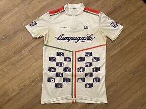 Vintage CAMPAGNOLO Cycling Jersey Size Medium