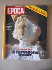 EPOCA n°1364 1976 Ornella Muti Francoise Claustre Malta Herbert Kappler [VL13]