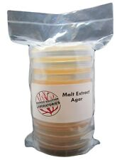 Malt Extract Agar Mea 10 100mm X 15mm Sterile Plates Great For Mushrooms