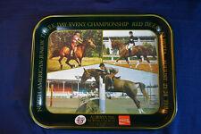 Vintage COCA COLA Alberta 75th Normandeau Cup Tray Horse Show Equestrian