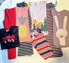 Girls Clothing Lot Size 8 Hanna Mini Boden Tea Collection pants tops outfits