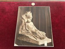 photo ancienne dédicacé N90 sculpteur sallé