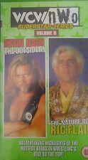 WCW Superstar Nature Boy Ric Flair & Outsider Kevin Nash ORIG VHS WWE Wrestling