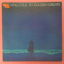 Nat King Cole - 20 Golden Greats - Capitol EMI EMTV-9 Ex Condition Vinyl LP