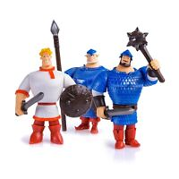 The Three Bogatyrs toy Три богатыря Russian knights Cartoon animated heroes игра