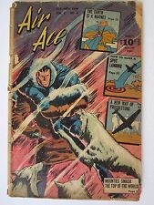 Rare AIR ACE Comic Vol. 3 No. 6 (Street & Smith, 1946) in 2.0 GD Condition!
