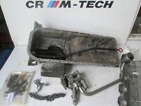 BMW E36 M3 3.0 S50B30  oil pump with sump pan dip stick tube bolts