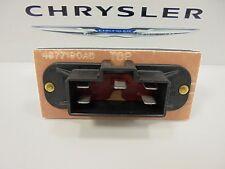 96-00 Plymouth Chrysler Dodge New A/C Heater Blower Motor Resistor Mopar Oem