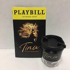 The Tina Turner Broadway Musical Cup Playbill