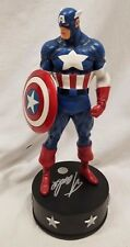 BOWEN DESIGNS SIGNED By STAN LEE CAPTAIN AMERICA CLASSIC STATUE Sideshow Bust