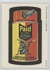 1989 O-Pee-Chee Wacky Packages #8 Paid Killers Non-Sports Card 3q4