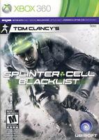 TOM CLANCY S SPLINTER CELL - BLACKLIST (TRILINGUAL COVER) (XBOX360)