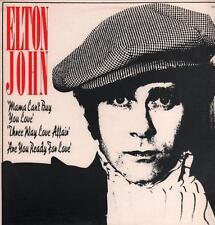 "Elton John(12"" Vinyl)Mama Can't Buy You Love-MCA-MCA 13921-Canada-1979-VG+/NM"