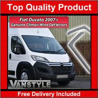 Front Genuine Fiat Ducato Side Window Wind Deflectors 50901494