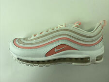 Nike Air Max 97 Womens 9 Summit White Bleached Coral Pink Shoes 921733-104 New