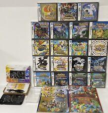 Nintendo Lunala New 3DS XL 32GB Console Bundle Pokemon DS Complete Lot AUTHENTIC