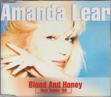 Amanda Lear CD-MAXI BLOOD AND HONEY ( NEW REMIX 98')