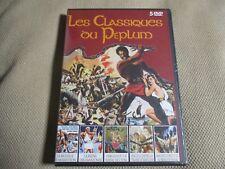 "COF 5 DVD ""LA BATAILLE DE MARATHON / LA REINE DES AMAZONES / HERCULE ..."" peplum"