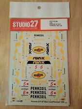 Studio 27 Decals British GT Porsche 911 1/24 Penzoil 1999 Model Stickers