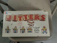 Jitters 1986 Word Board Game Milton Bradley 100% Complete  vintage