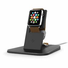 Twelve South HiRise Stand Black Metal Charging Dock for Apple Watch