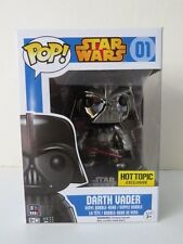 Funko Pop Hot Topic Exclusive Star Wars Silver Darth Vader Vinyl Figure #01