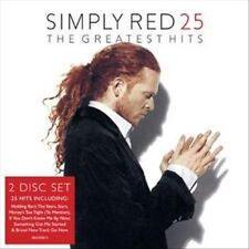25: The Greatest Hits by Simply Red (CD, Nov-2014, simplyred.com)