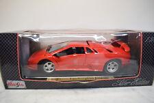 Maisto 1:18 532829 Lamborghini Jota,rot, 1995 Die Cast