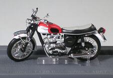Clásico Motor Bicicleta J35 Triumph T120 Bonneville 1967 Escala 1/24 - 1st Class Post