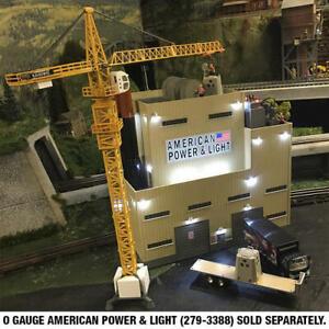 O scale  Die-Cast Construction Crane  building  1:50