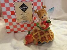 "My Little Kitchen Fairies ""APPLE PIE FAIRIE"" 2009 NIB"