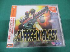 SEGA Dreamcast -- CHARGE'N BLAST -- DC. JAPAN. GAME. NEW. 32023