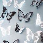 18pcs DIY 3D Butterfly Wall Stickers Art Decal PVC Butterflies Home Decor ifca