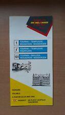► TEC Hainaut - guide horaire ligne 1-101, Tournai - Mouscron