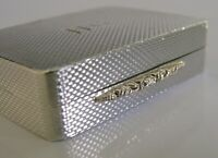 QUALITY ENGLISH SOLID STERLING SILVER & GOLD SNUFF PILL BOX 1997 GALLAGHERS