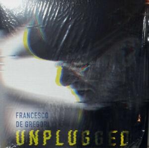 LP Francesco De Gregori - Unplugged - vinile 180 g SIGILLATO - Segno copertina