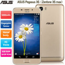 "5.2"" ASUS Zenfone Pegasus 3s Max 4G Smartphone 64GB 13MP Cellulari Android 8Core"