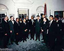 John F. Kennedy JFK with Martin Luther King Jr President 8x10 Photo 027