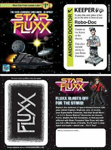 Star Fluxx Robo-Doc Promotional Card Looney Labs Talbletop Card Game