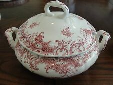 "VILLEROY & BOCH VALERIA SOUP TUREEN 4 1/2"" TALL BY 8"" WIDE"