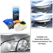 Car Restorer Polishing Tool Kit Headlight Lens Restoration System Professional