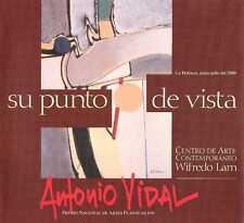 """ANTONIO VIDAL, """"Su punto de vista"""", 2000. Cuban Art Painting Catalog Exhibition."""